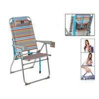 Sessel 117922 Faltbare Aluminium Mehrfarben (65X60x47/108 cm) -