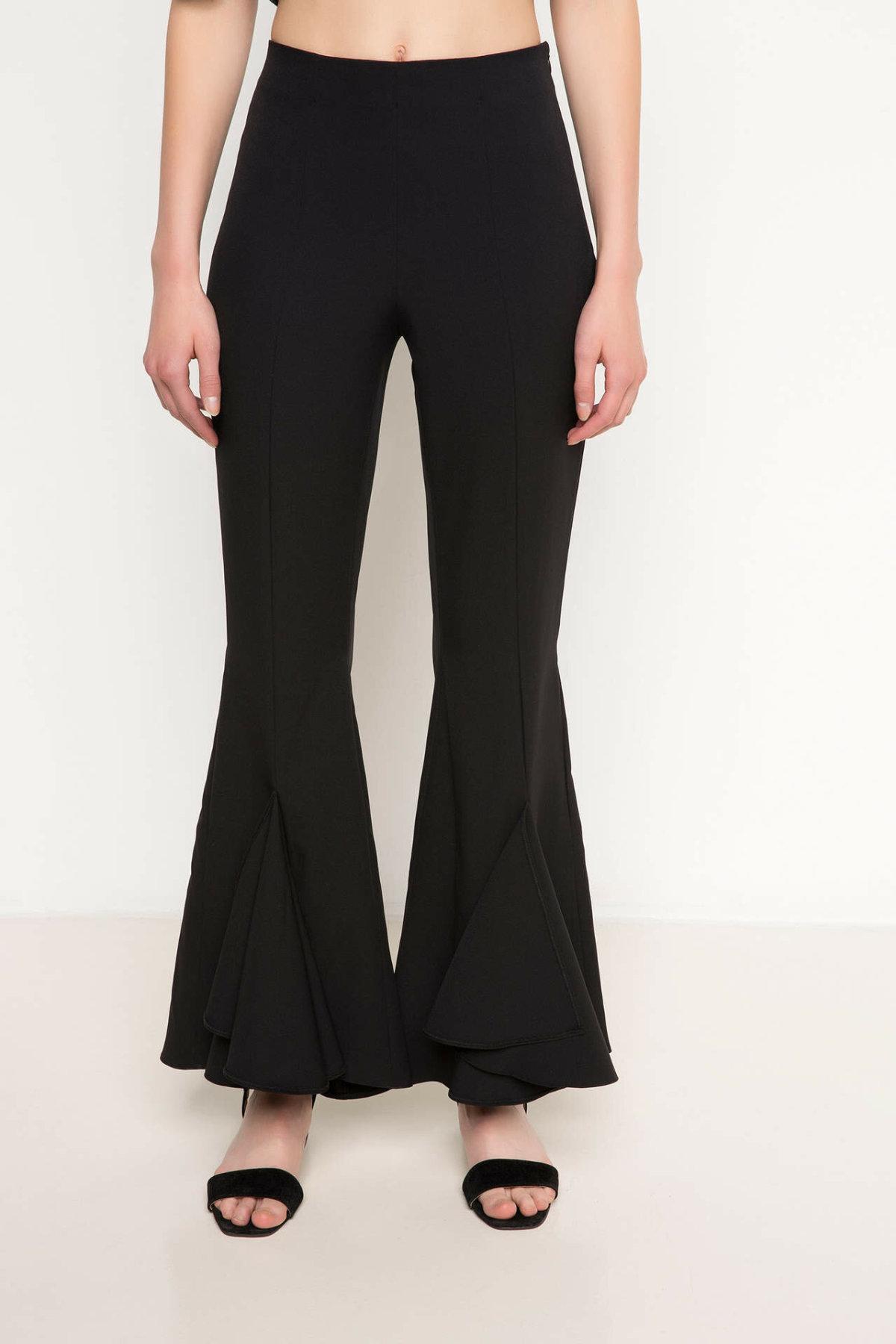 DeFacto Fashion Ladies Solid Trousers Women Autumn Elegant Long Pants Casual Pants Loose Office Flare Trousers H8994AZ17HS
