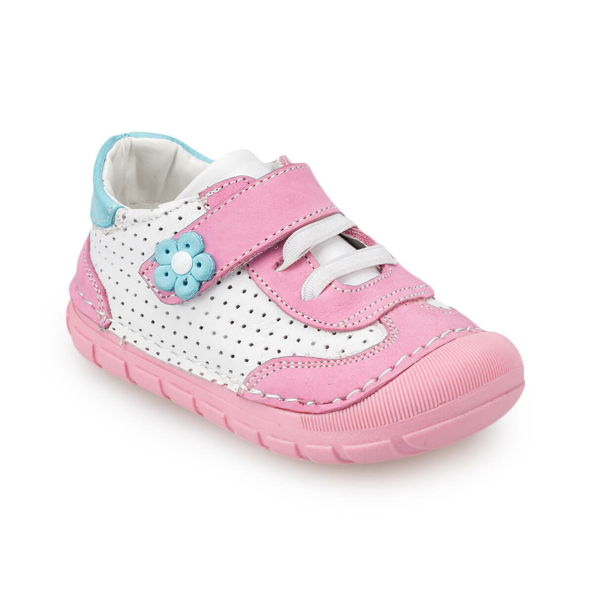 FLO 91.511386.I Pink Female Child Sneaker Shoes Polaris