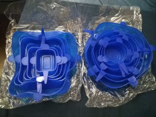 EcoInnova 6 Pack Stretch & Seal Silicone Lids (50% OFF) photo review