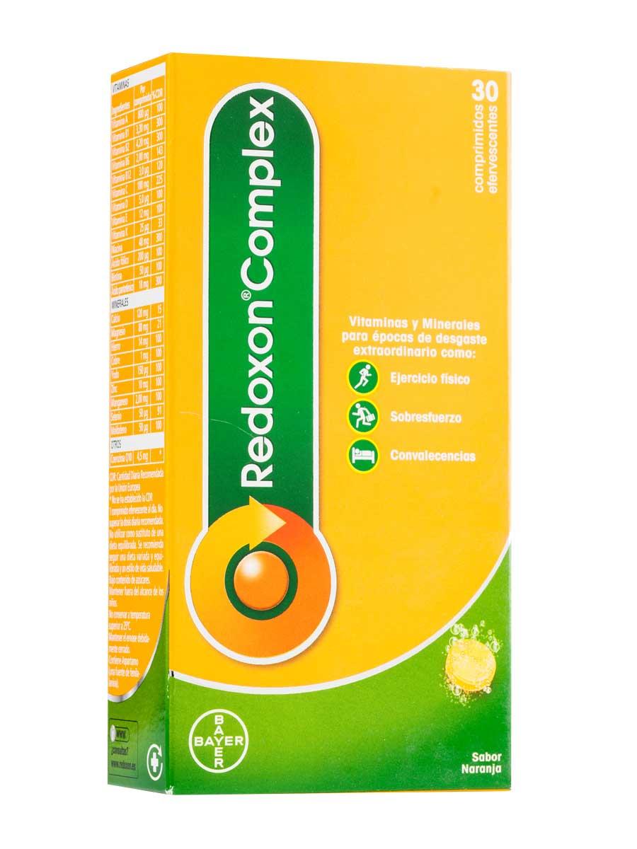 Redoxon complex effervescent 30 vitamin supplement tablets