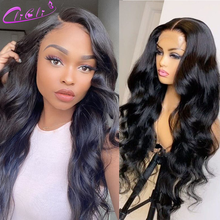 Body Wave Lace Front Wig Transpant Lace 4x4 Closure Wig Pre Plucked 30 Inch Wig 13x4 Lace Frontal Wig Peruvian Body Wave Wig 150