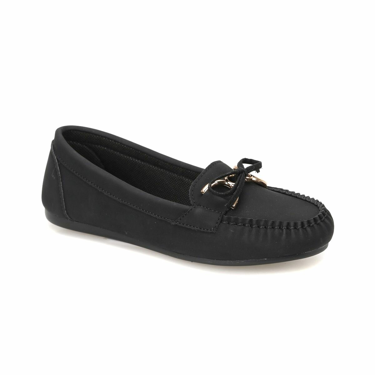 FLO DW18009 Black Women Loafer Shoes Miss F