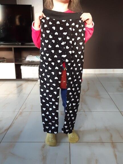 Casual Winter girls Pants leggings Warm Cartoon Heart Cat trousers Children Pants|girls pants|children pants|winter girl pants - AliExpress