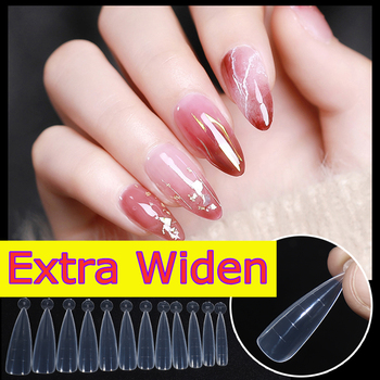 120pcs/set Soft Dual Nail Forms French False Tips System Extension UV Poly GEL Acrylic Decoration Art Mold