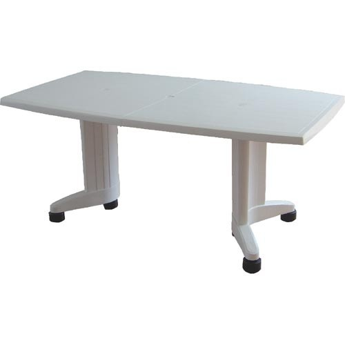 Table SIL, Green, Oval, Zoomable 165/225x95 Cms.