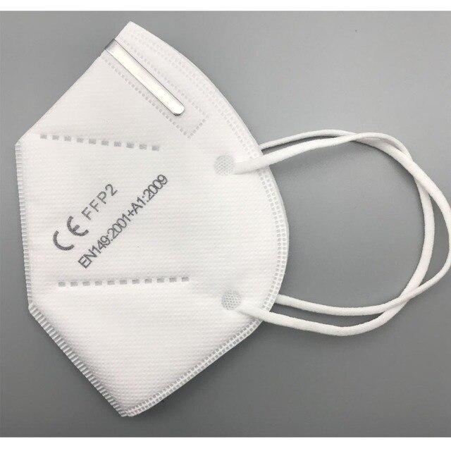 Fast Delivery Face Mask FFP2 Mask KN95 Dustproof KN95 masks Filter Filtration Protective Dust Mouth Mask 3