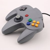 Almofada joystick tipo nintendo 64 n64 original conector n64 controle compatível