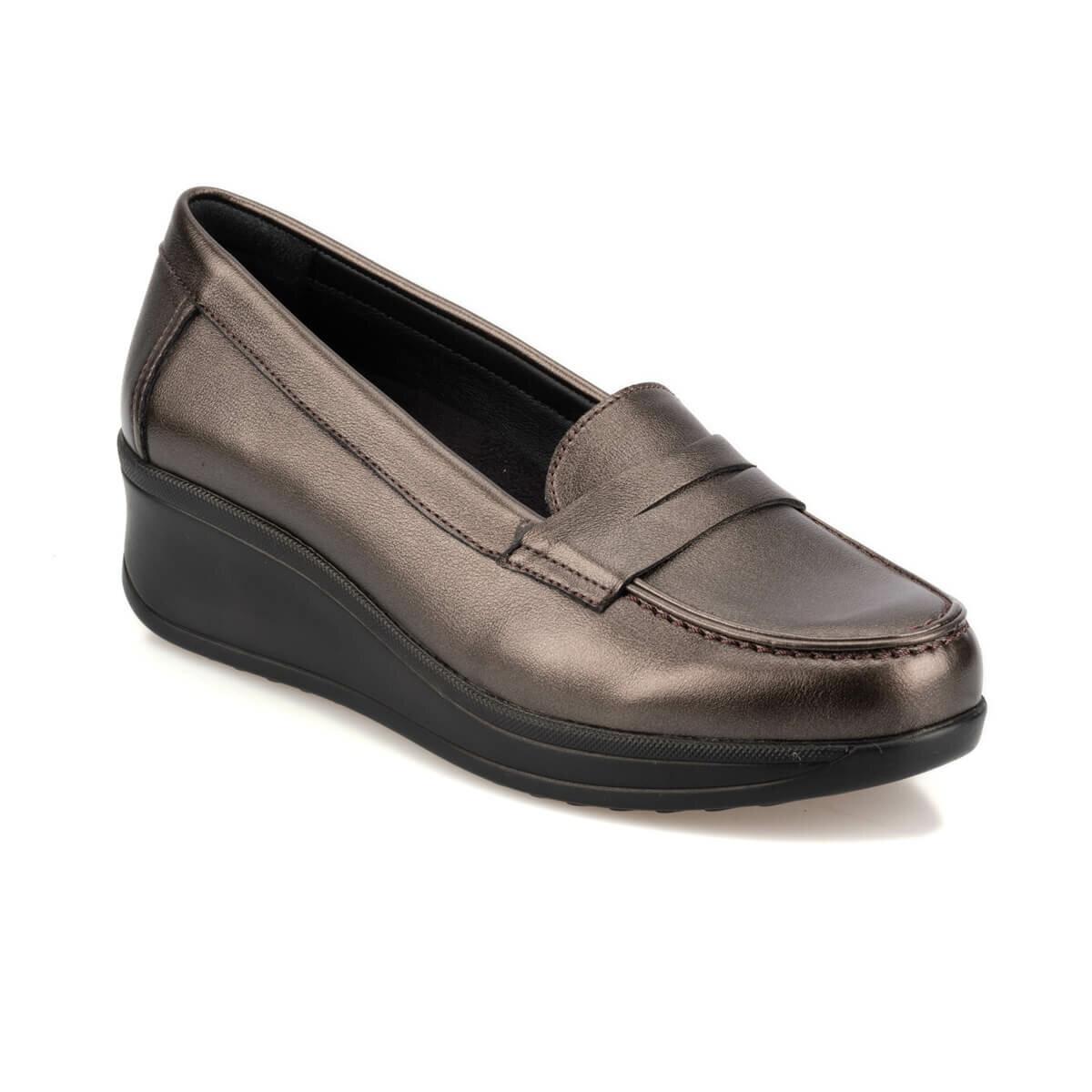 FLO TRV920054 Anthracite Women Loafer Shoes Travel Soft
