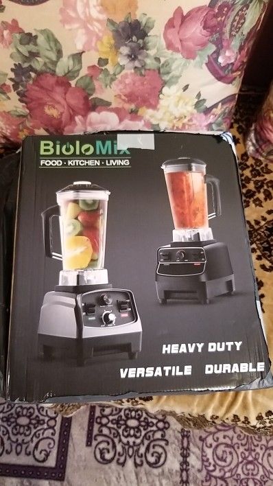 BPA Free Commercial Grade Timer Blender Mixer Heavy Duty Automatic Fruit Juicer Food Processor Ice Crusher Smoothies 2200W|Blenders|   - AliExpress