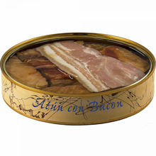 Tuna Ventresca can with Bacon in olive oil 280 grams | Fish preserves El Ronqueo | gourmet preserves