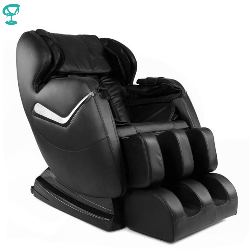 95688 Barneo Fav-03 Chair Massage Black Full Functional Chair Massage Chair With Massage Free Shipping To Russia