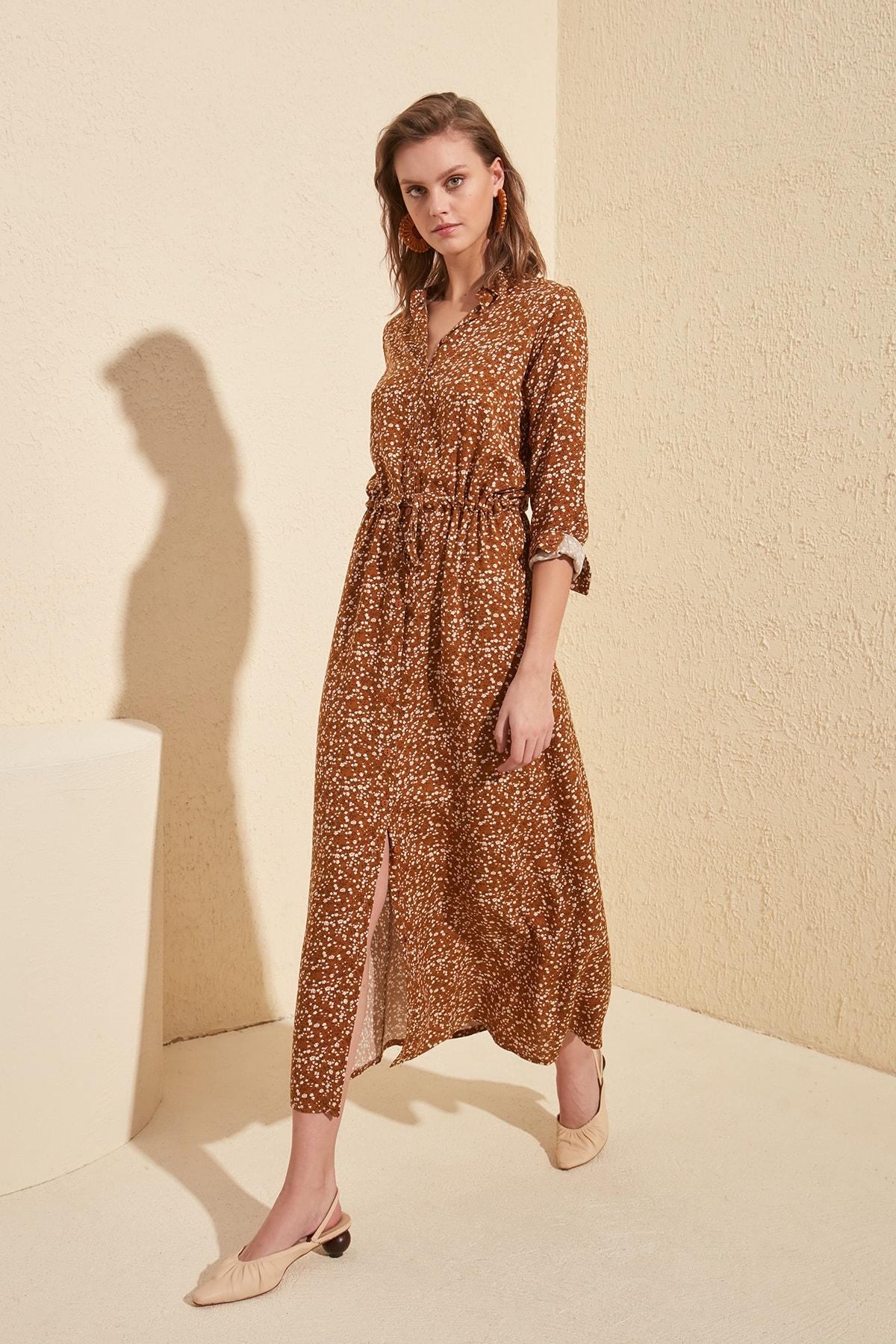 Trendyol Button Gusset Dress TWOSS20EL1093