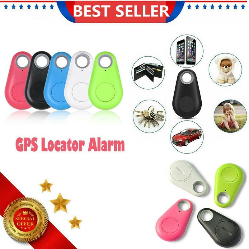 Мини-брелок с сигнализацией потери, смарт-трекер с Bluetooth, трекер GPS брелок для ключей с локатором для домашних животных, собак, детей