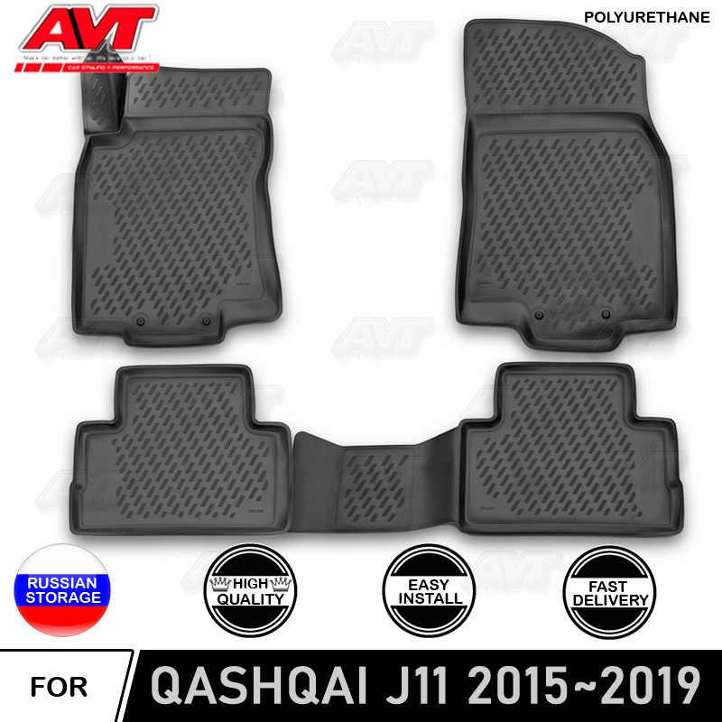 floor mats for nissan qashqai j11 2015