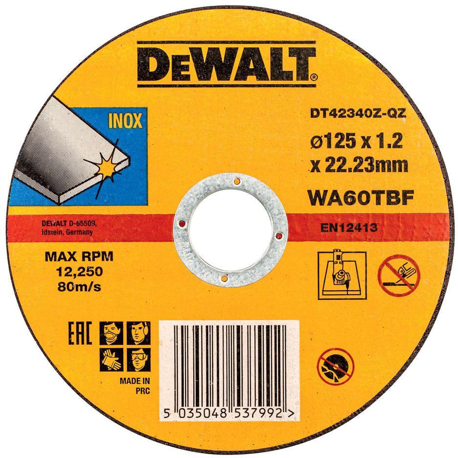 Circle Cutting DEWALT 125х1. 2h22 DT42340ZQZ
