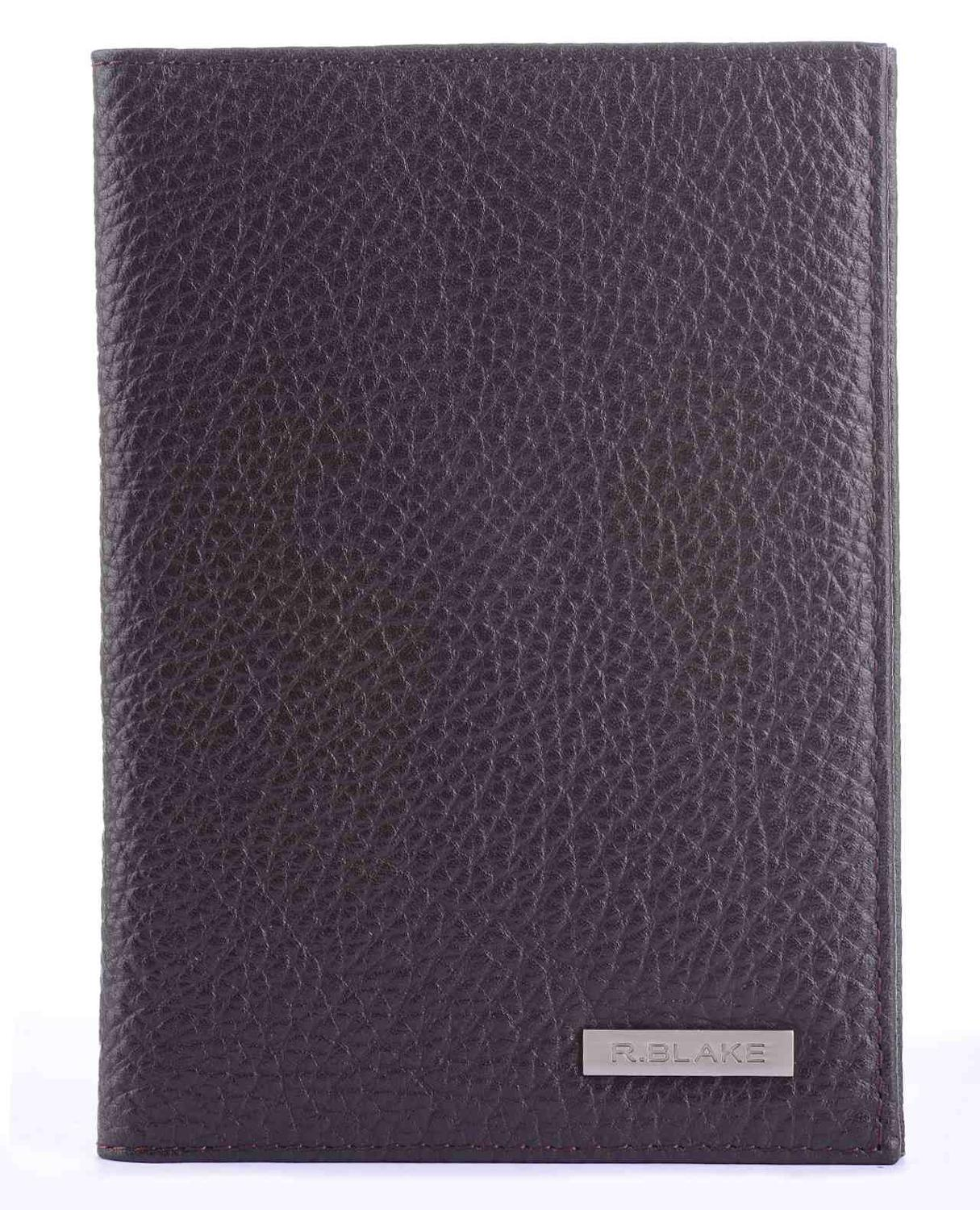 R. Blake Cover On The Passport And For Avtodokumentov Genuine Leather Cover Money