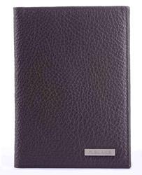 R. Couverture Blake sur le passeport et pour avtodokumentov couverture en cuir véritable argent