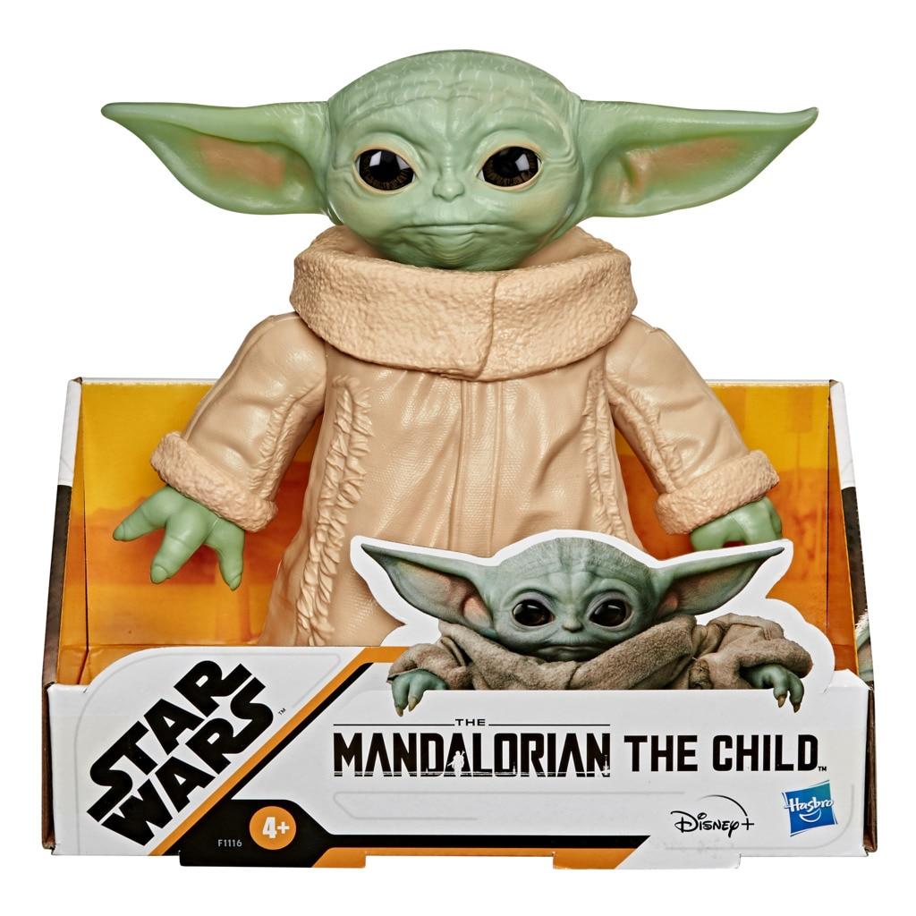 Hasbro Original, Baby Yoda, Figura de acción Star Wars The Mandalorian, 4 AÑOS+, Envío gratis, F11165L0, juguete para niños|Figuras de acción| - AliExpress