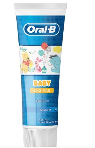 Oral-b Pro expert stages child toothpaste Winnie the Pooh 75 ml (0-2 years) | original | registered fast shipping image