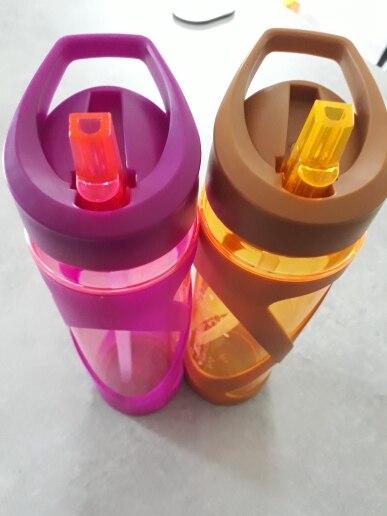 Urijk New Sport Water Bottle Plastic Drink Bottle Tour Hiking Portable Bottle Space Drinkware 580ml Bottle Anti Hot Leak Proof Water Bottles     - AliExpress