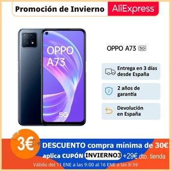 Перейти на Алиэкспресс и купить Смартфон OPPO A73, 8 ГБ/128 ГБ, экран 6,5 дюйма HD +, DualSIM, тройная камера AI, быстрая зарядка 18 Вт, ColorOS 7,2, 2 года гарантии