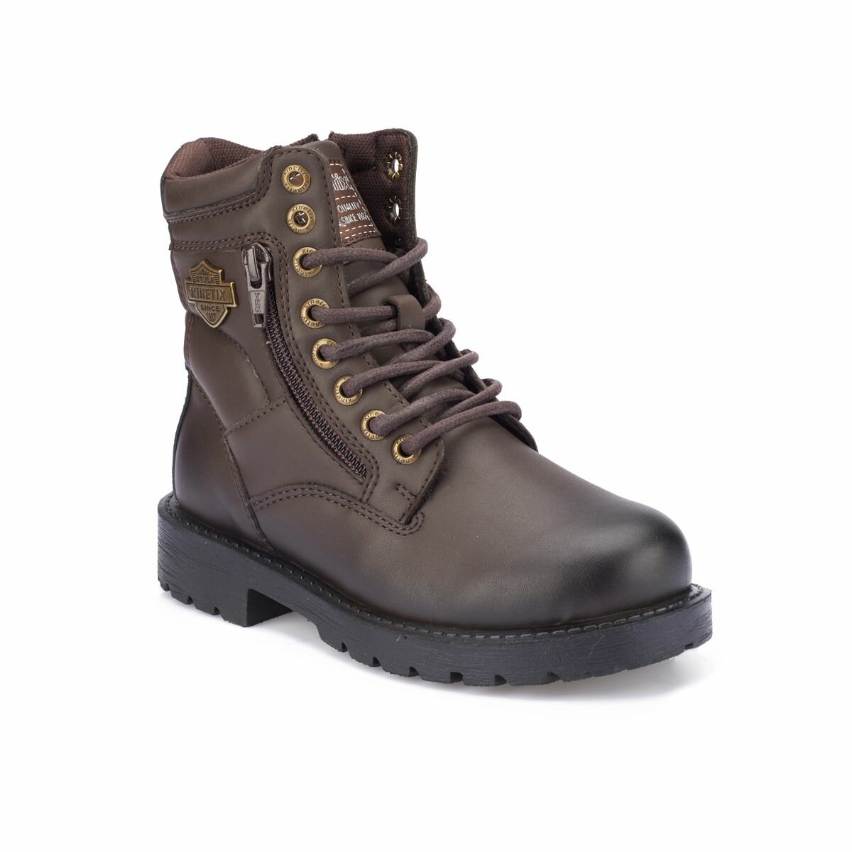 FLO DUTSY Brown Male Child Boots KINETIX