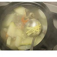 鲜美的冬瓜干贝虾仁汤的做法图解8