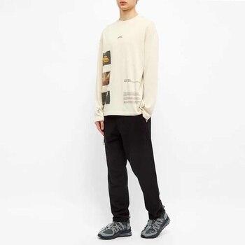 Camiseta Hip-hop ACW con estampado A mano del diablo, A-COLD-WALL para hombre y mujer, manga larga, estilo de placer, ACW Streetwear, una pared Fría * camiseta