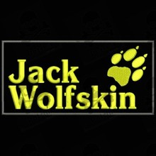 JACK WOLFSKIN Parche bordado Iron patch Toppa ricamata gestickter patch brode remendo bordado