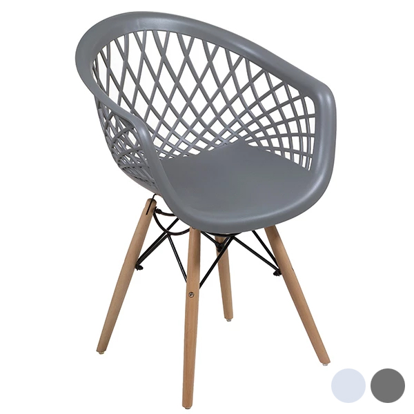 Dining Chair (48 X 54 X 87 Cm) Beech Wood