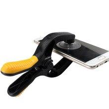 Инструмент для ремонта мобильного телефона на присоске жк-присоска на экран инструмент для открытия двойное разделение зажим плоскогубцы для ремонта инструмент для IPhone IPad