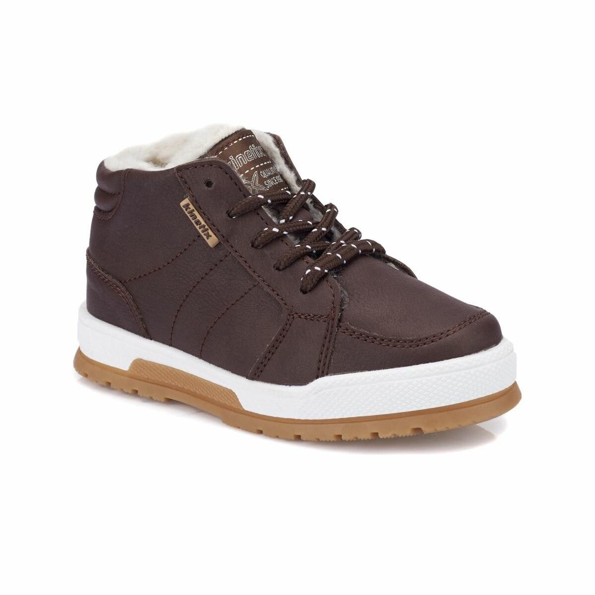 FLO VIDAL Brown Male Child Sneaker Shoes KINETIX