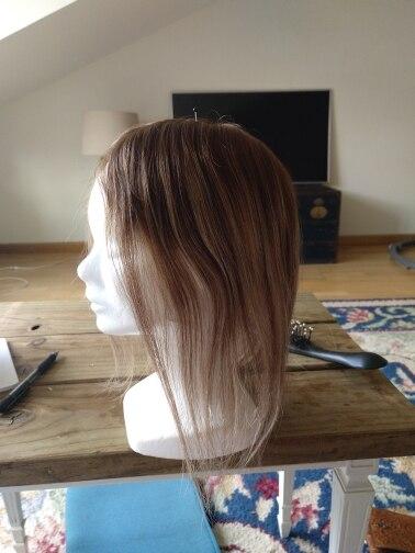 Perucas cabelo brilho completo