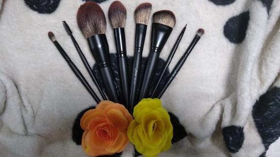 Jessup New Arrival Makeup brushes brushes Phantom Black 3-21pcs Foundation brush Powder Concealer Eyeshadow Synthetic hair reviews №5 49073