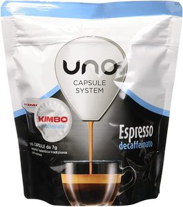 Kimbo coffee Capsules Compatible system capsules ONE-Espresso Decaffeinated (6x16 capsules)