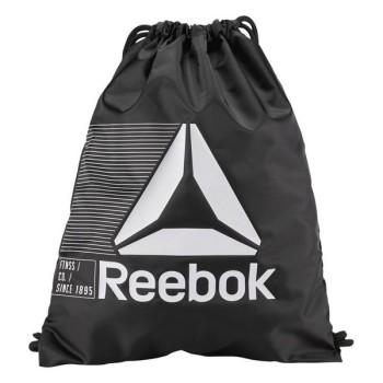 Backpack with Strings Reebok Act Fon Gymsack Black