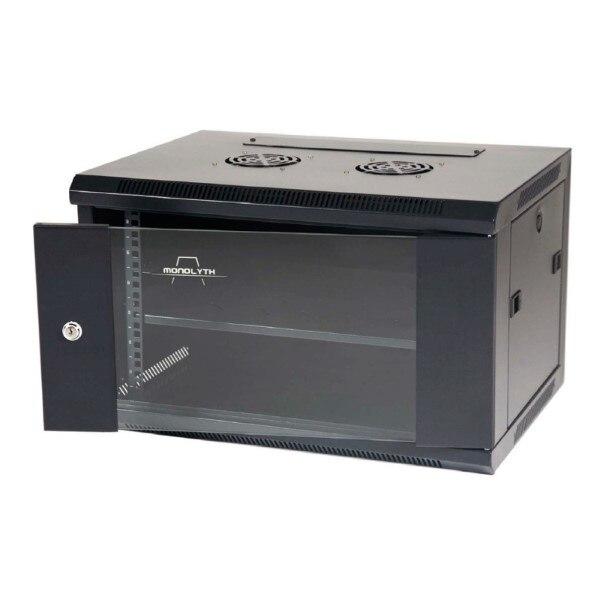 Wall-mounted Rack Cabinet Monolyth SH6406 Black