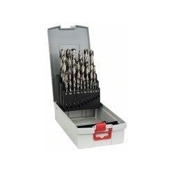 BOSCH zestaw 25 brocas metalowe ProBox HSS G  DIN 338  135 ° 1 13mm w Zestawy elektronarzędzi od Narzędzia na