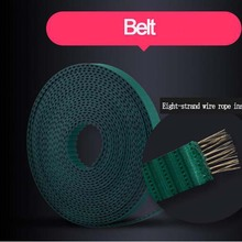 Belt Curtain-Rod-Belt Smarthome Electronic High-Quality Rubber for Dooya