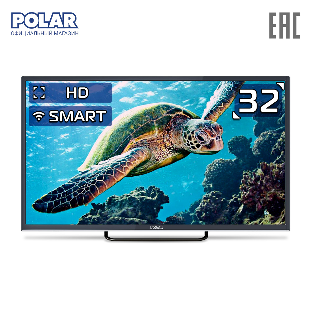 LED Television POLAR P32L32T2CSM Consumer Electronics Home Audio Video Equipments <font><b>Smart</b></font> <font><b>TV</b></font> 3239InchTv image