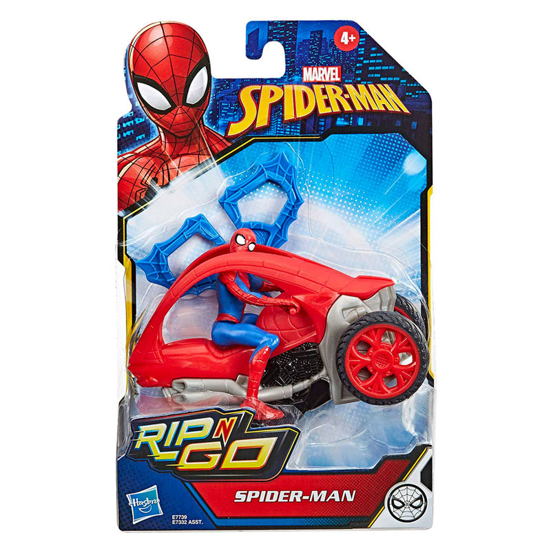 Spiderman Figure With Vehicle Spiderman Marvel