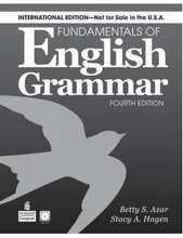 Pearson, fundamentos da gramática inglesa, betty azar persuasão