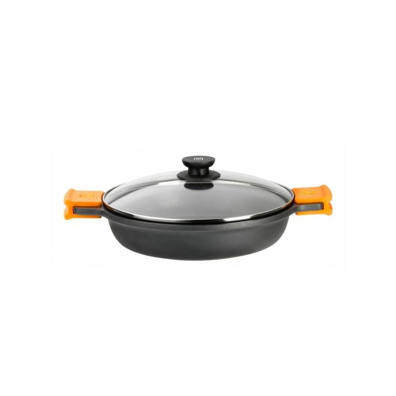 Saucepot With Glass Lid BRA A270540 (40 Cm) Aluminum