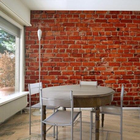Photo Wallpaper-Brick