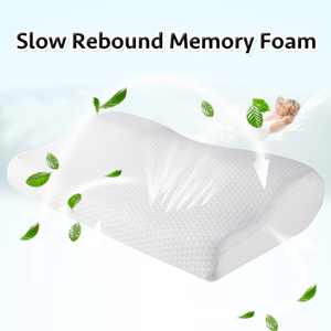 Image 4 - Memory Foam Pillow  Orthopedic Sleeping Beding Pillows Butterfly Shaped Ergonomic Cervical Pillow Comfortable Neck protection