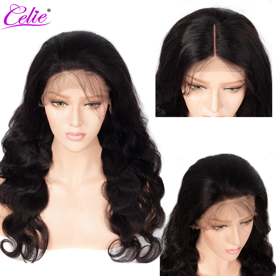 Image 3 - Celie 13x6 Body Wave Wig Lace Front Human Hair Wigs  250 Density Remy Brazilian 360 Lace Frontal Wig Pre Plucked With Baby Hair-in Human Hair Lace Wigs from Hair Extensions & Wigs