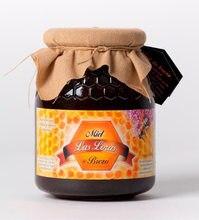 Miel de brezo en tarro de cristal de 1 kg - 100% natural - procedente de colmenas situadas en el norte de la provincia de Burgos
