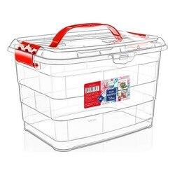 Schowek pudełko z pokrywką Confortime 14 L w Składane torby do przechowywania od Dom i ogród na
