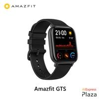 Смарт-часы Xiaomi Huami Amazfit GTS (Новые смарт-часы, водонепроницаемое плавание, Bluetooth, gps, спорт) [глобальная версия]